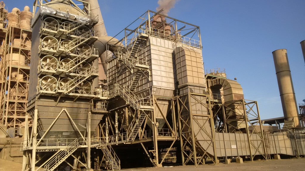 Boldrocchi Suez Sokhna Plant Air Pollution Control Bag Filter Heat Exchanger Kiln Clinker Cooler Fan Environment Egypt