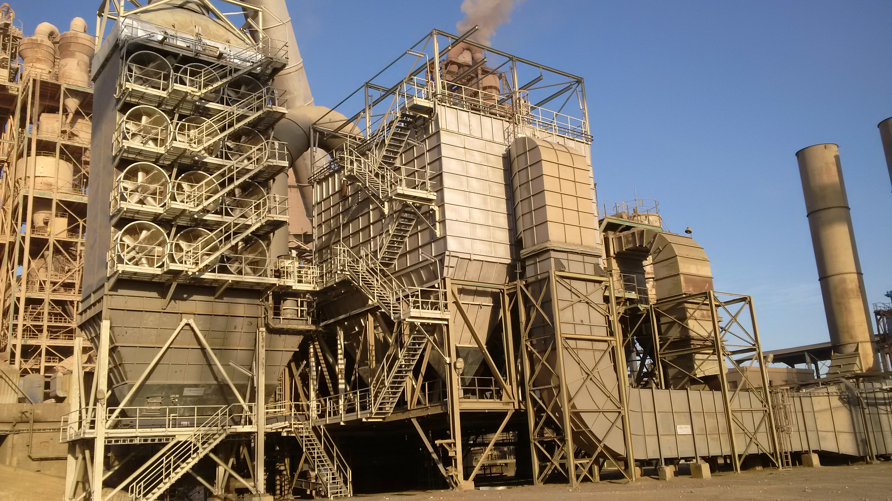 Flash Cement Plant In Cooler : Another boldrocchi de dusting plant in egypt info